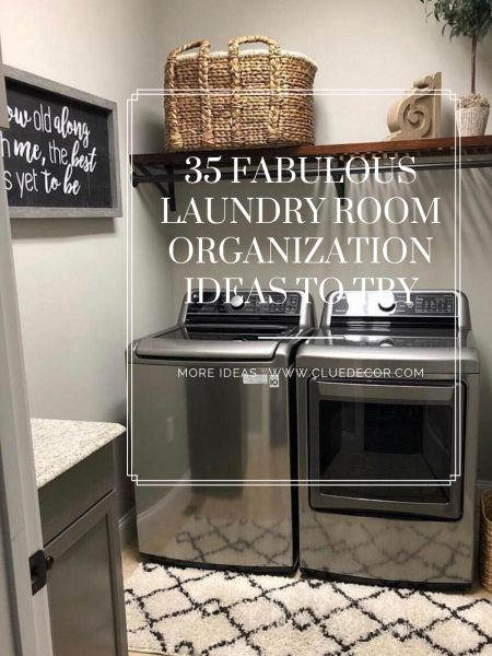 35 Fabulous Laundry Room Organization Ideas To Try