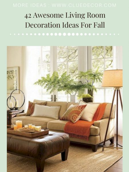 42 Awesome Living Room Decoration Ideas For Fall