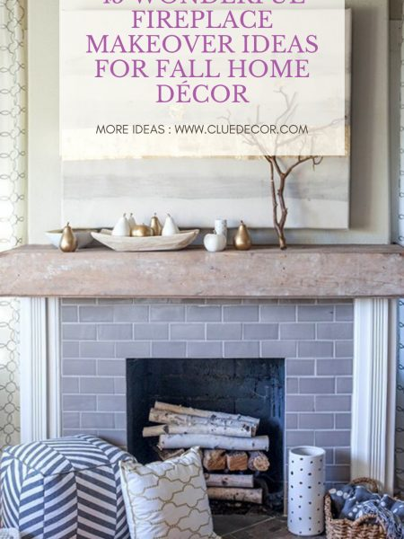 45 Wonderful Fireplace Makeover Ideas For Fall Home Décor