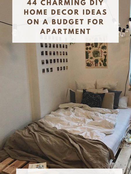44 Charming Diy Home Decor Ideas On A Budget For Apartment
