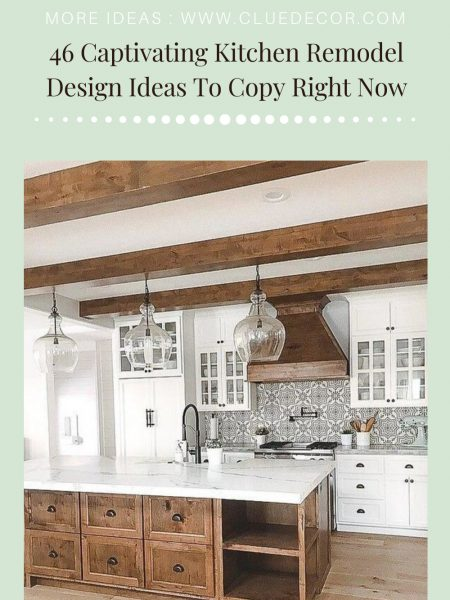 46 Captivating Kitchen Remodel Design Ideas To Copy Right Now