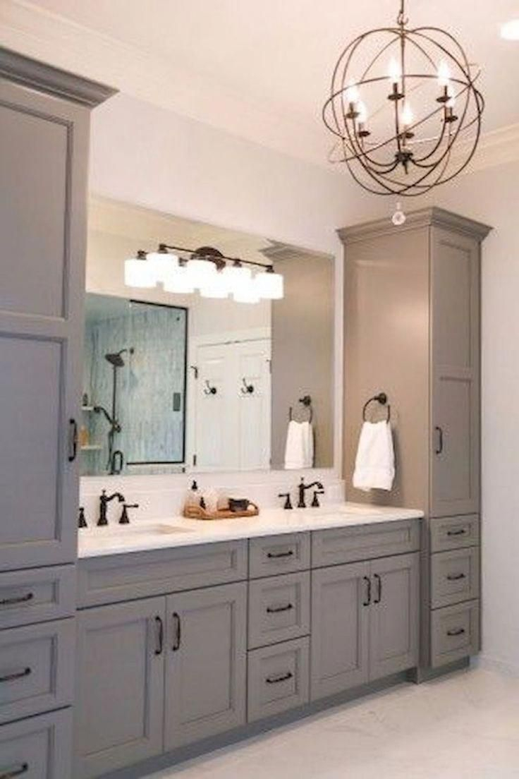 Fascinating Farmhouse Master Bathroom Remodel Ideas To Have Now08