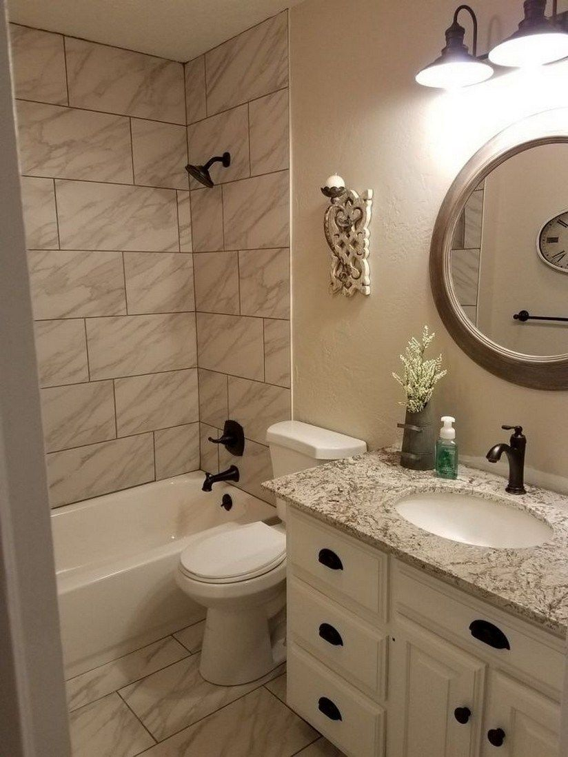 Fascinating Farmhouse Master Bathroom Remodel Ideas To Have Now13