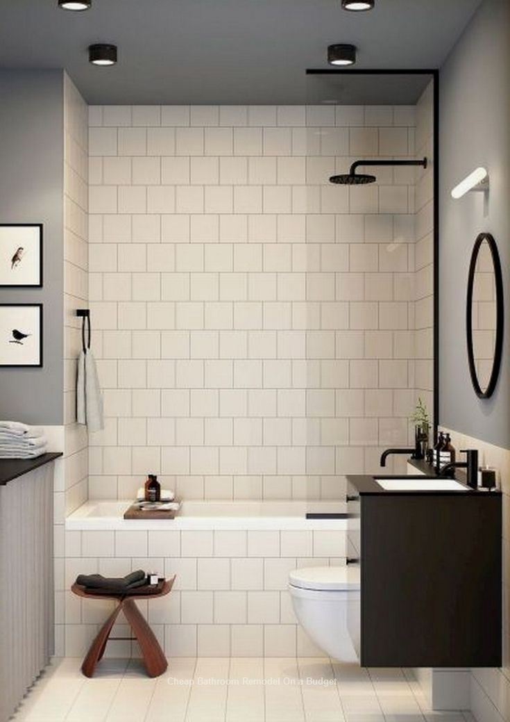 Fascinating Farmhouse Master Bathroom Remodel Ideas To Have Now22