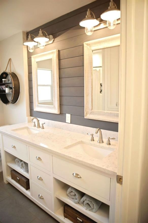 Fascinating Farmhouse Master Bathroom Remodel Ideas To Have Now33