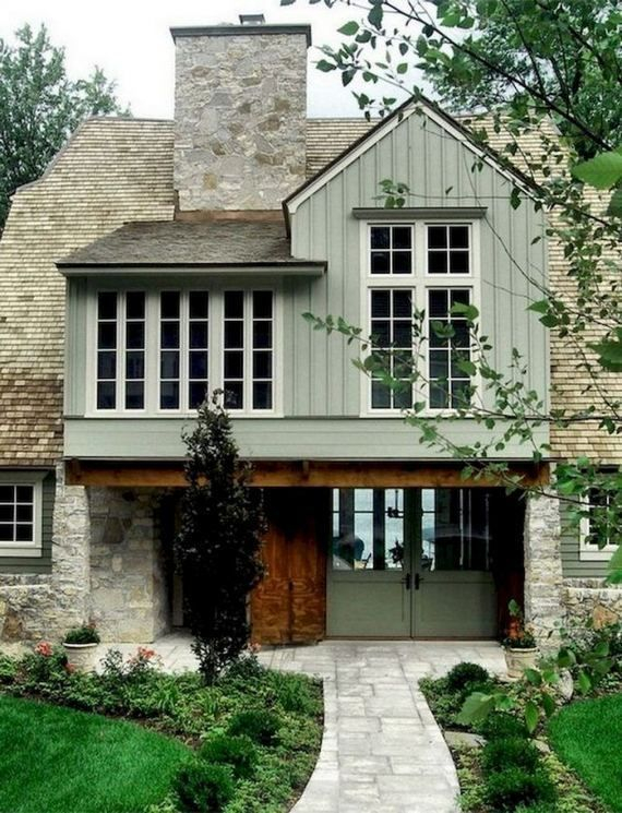 Latest Exterior Design Ideas For Tiny House To Try16