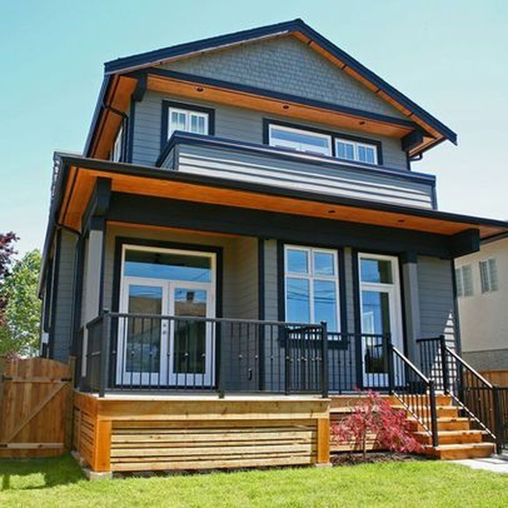 Latest Exterior Design Ideas For Tiny House To Try25