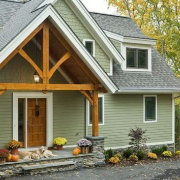 Latest Exterior Design Ideas For Tiny House To Try37