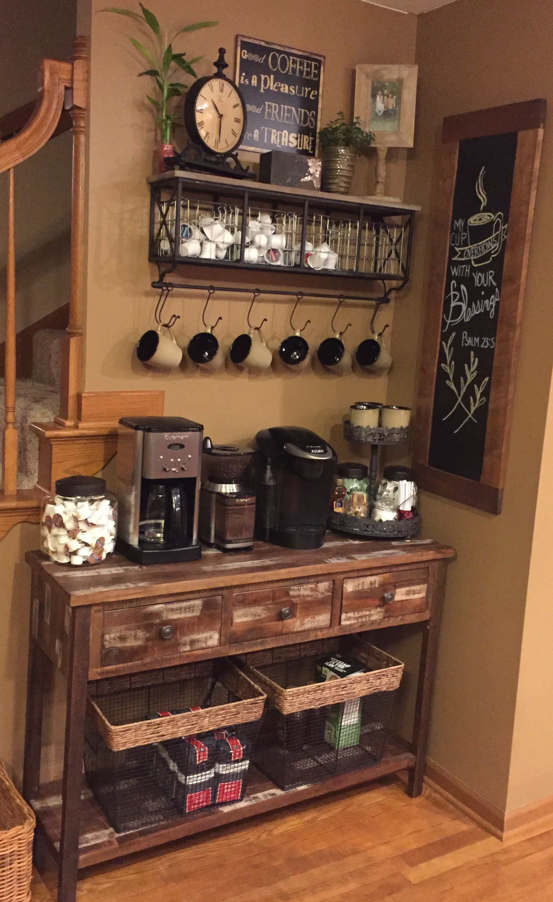 Best Home Coffee Bar Design Ideas You Must Have In Your House02