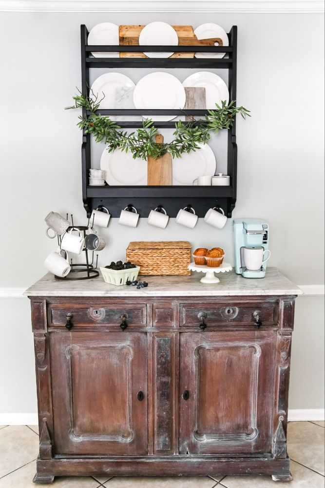 Best Home Coffee Bar Design Ideas You Must Have In Your House14