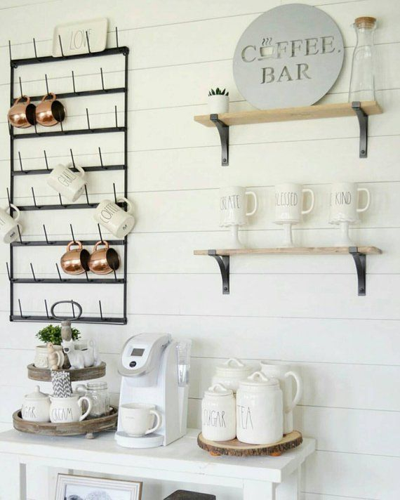 Best Home Coffee Bar Design Ideas You Must Have In Your House28