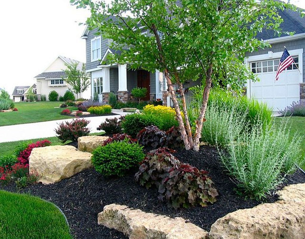 Fascinating Front Yard Landscaping Design Ideas To Try Right Now09