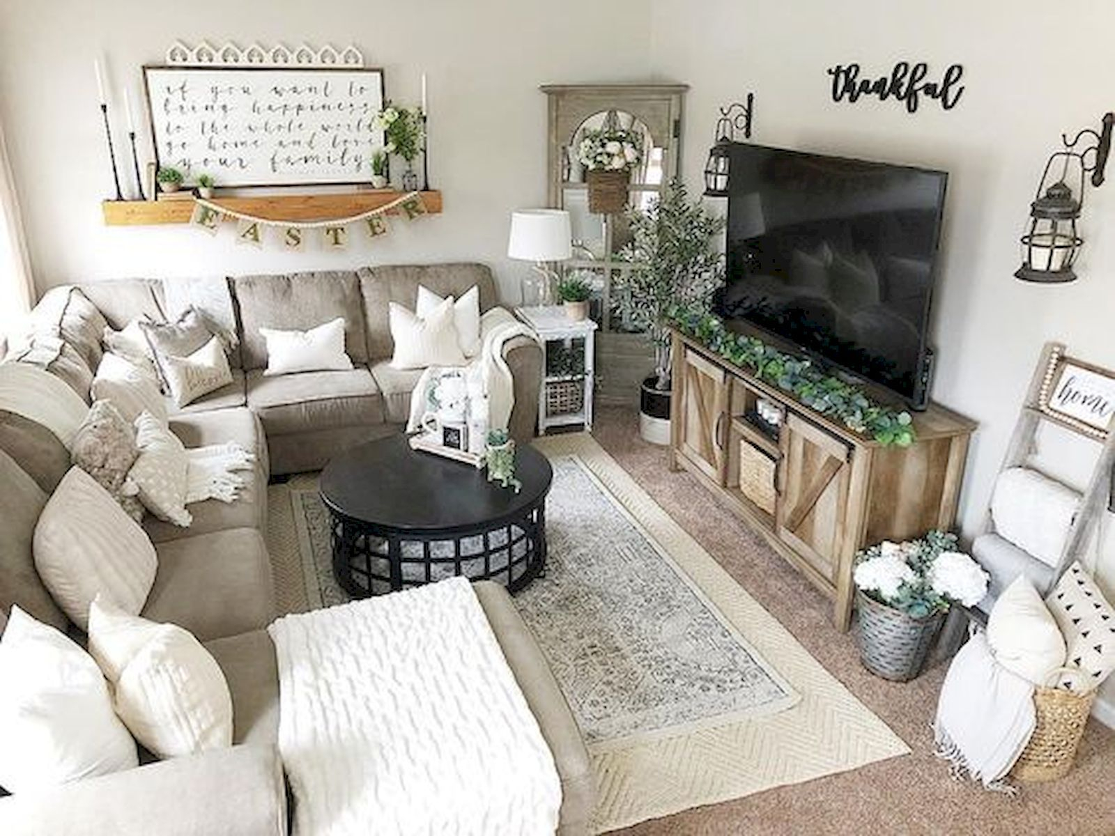 Hottest Farmhouse Decor Ideas On A Budget To Try23