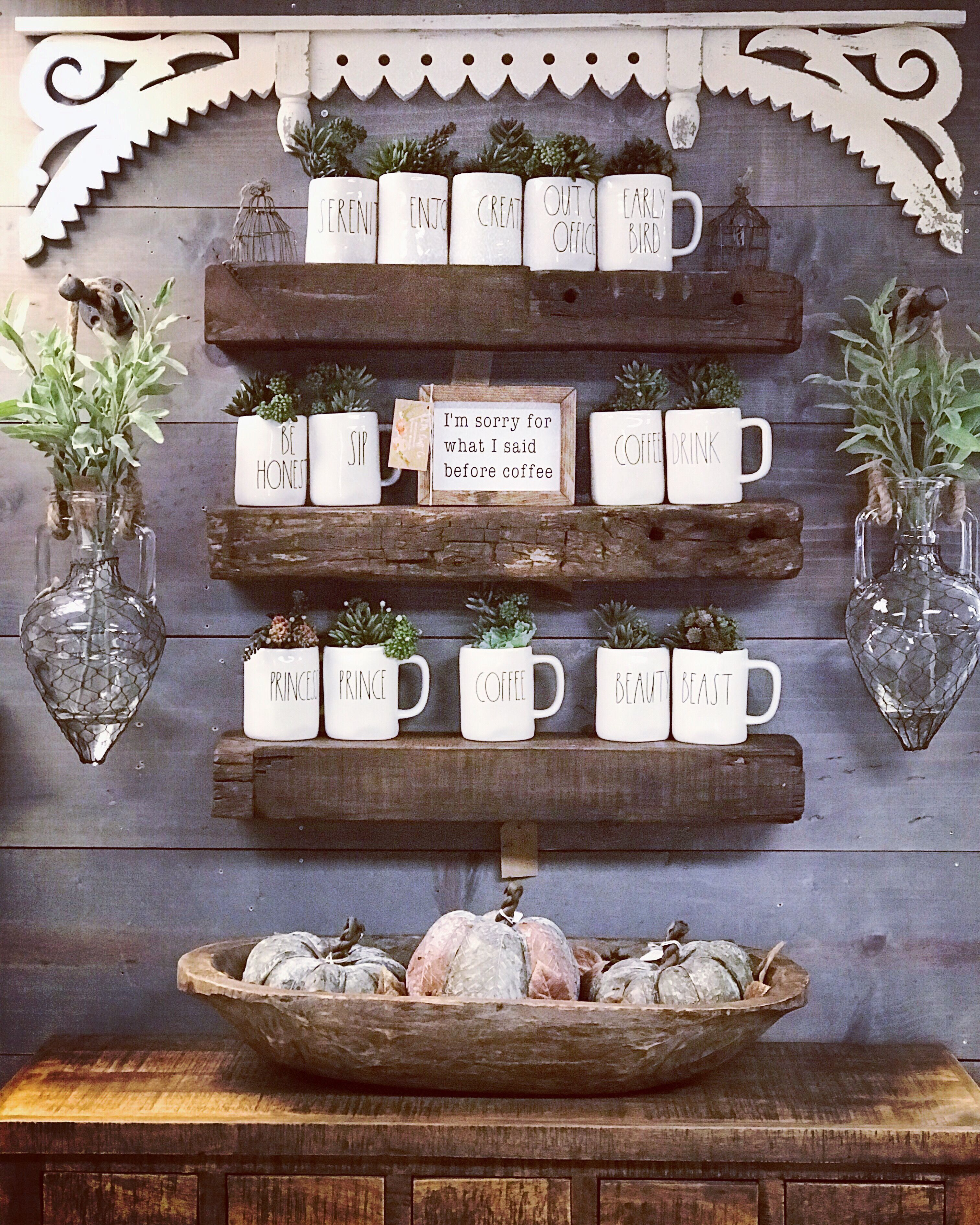 Newest Rae Dunn Display Design Ideas To Make Beautiful Decor In Your Home08