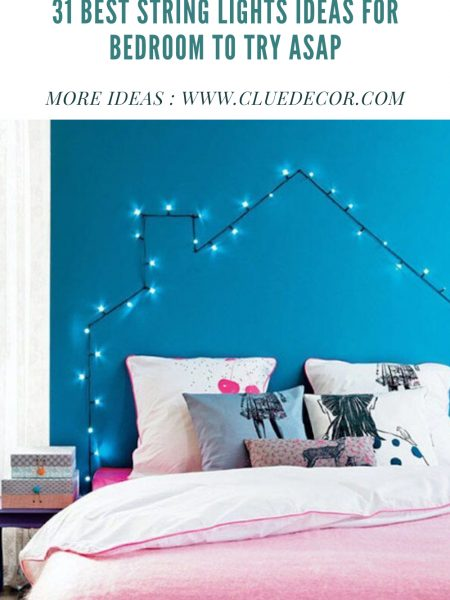 31 Best String Lights Ideas For Bedroom To Try Asap