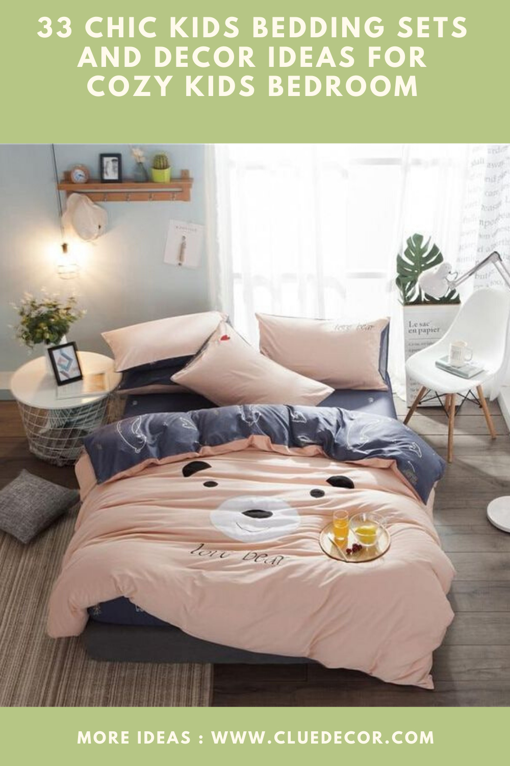 33 Chic Kids Bedding Sets And Decor Ideas For Cozy Kids Bedroom Cluedecor