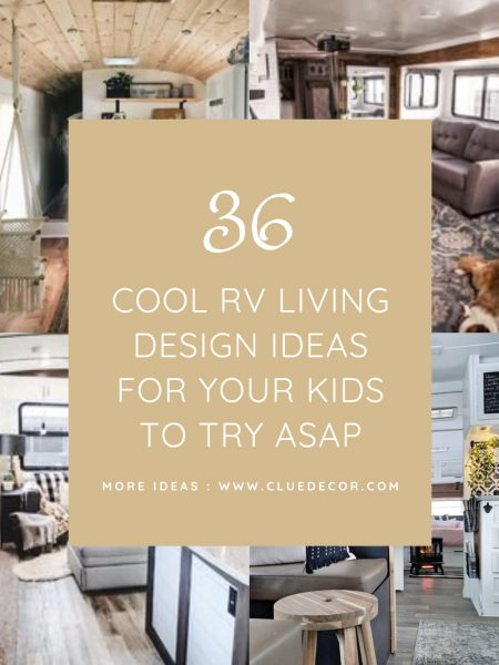 36 Cool Rv Living Design Ideas For Your Kids To Try Asap