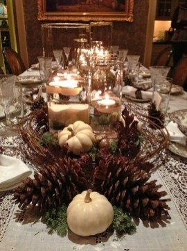 Amazing Thanksgiving Tablescapes Ideas For More Taste And Enjoyful01