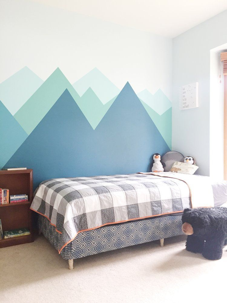 Awesome Kids Bedroom Wall Decorations Ideas That Will Make Fun Your Kids Room23