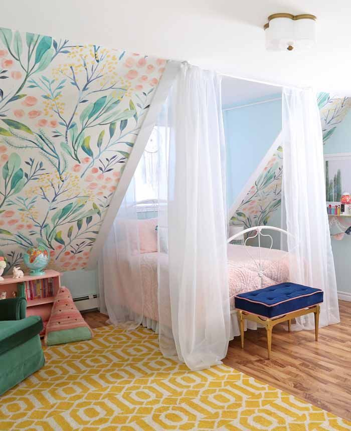Awesome Kids Bedroom Wall Decorations Ideas That Will Make Fun Your Kids Room31