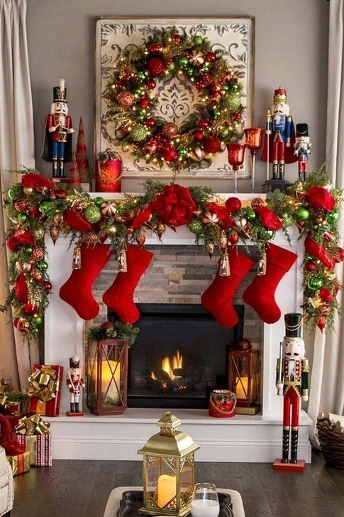 Hottest Farmhouse Christmas Decorations Ideas To Try Asap10
