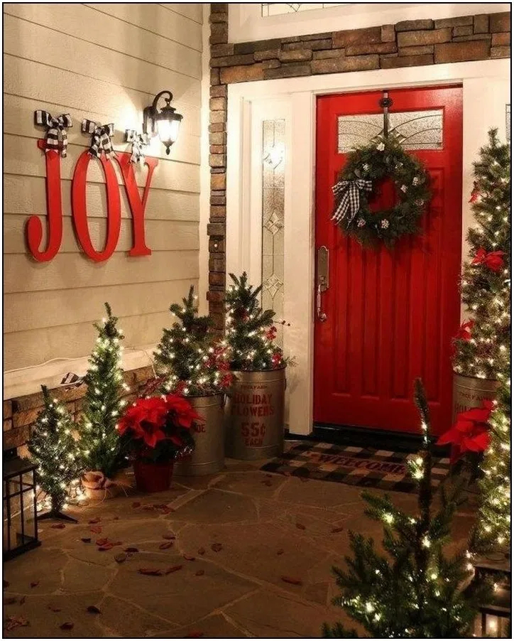 Hottest Farmhouse Christmas Decorations Ideas To Try Asap30