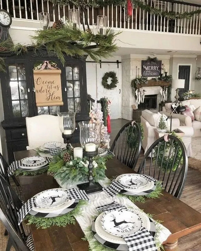 Hottest Farmhouse Christmas Decorations Ideas To Try Asap31