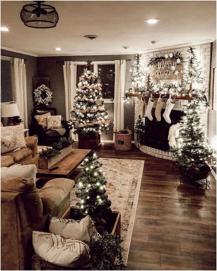 Hottest Farmhouse Christmas Decorations Ideas To Try Asap33