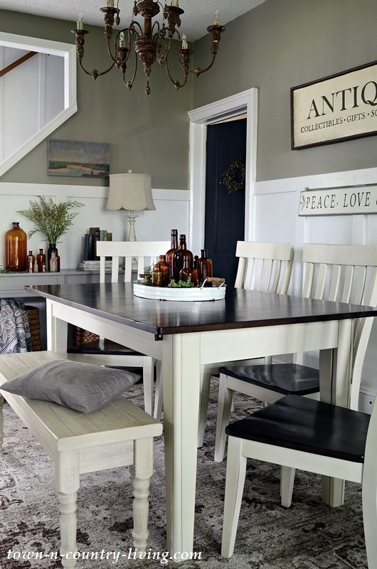 Lovely Farmhouse Dining Room Remodel Ideas To Have Asap12