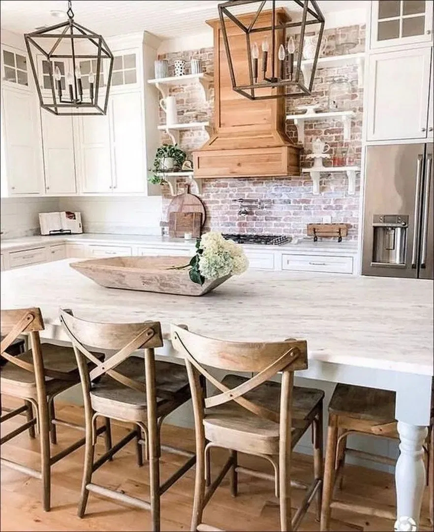 Lovely Farmhouse Dining Room Remodel Ideas To Have Asap14