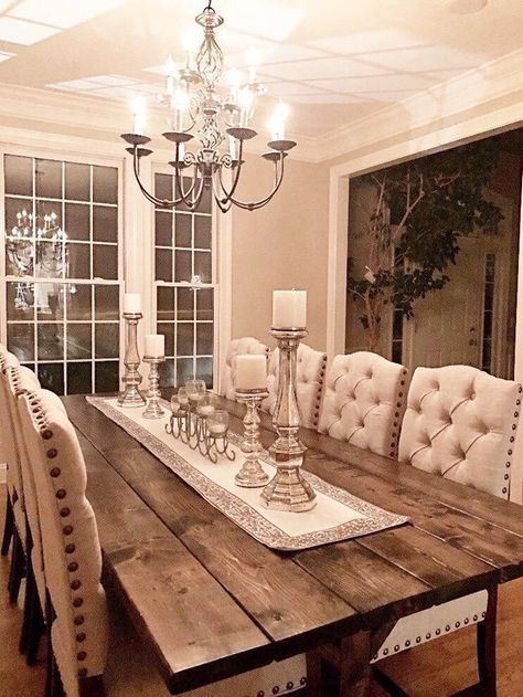 Lovely Farmhouse Dining Room Remodel Ideas To Have Asap25