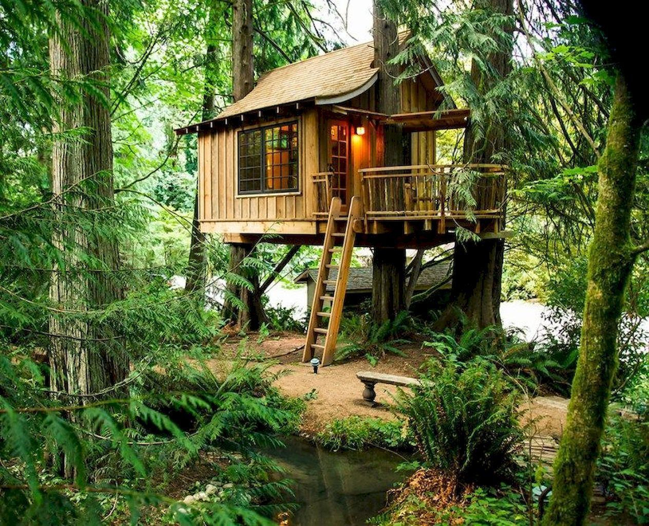 Rustic Diy Tree Houses Design Ideas For Your Kids And Family05