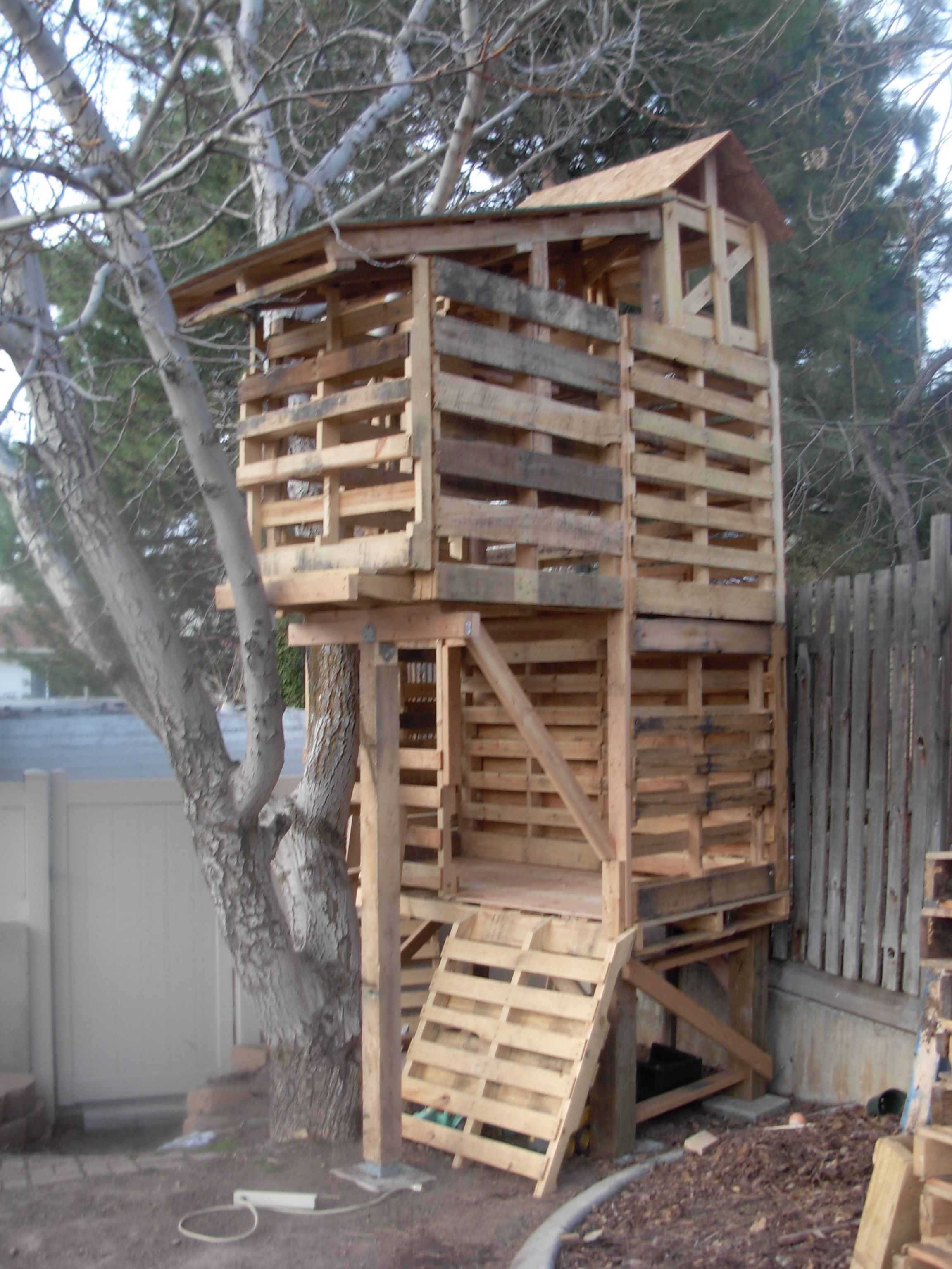 Rustic Diy Tree Houses Design Ideas For Your Kids And Family19