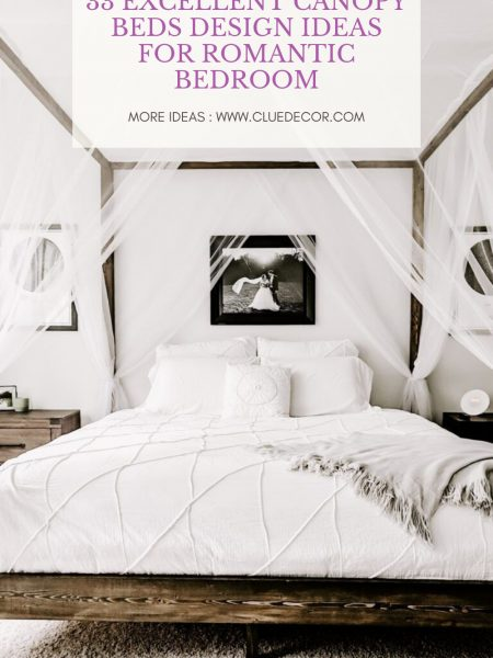33 Excellent Canopy Beds Design Ideas For Romantic Bedroom