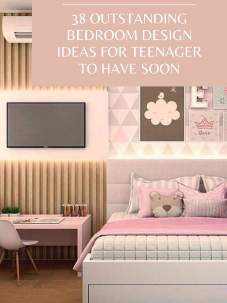 38 Outstanding Bedroom Design Ideas For Teenager To Have Soon