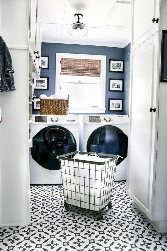 Cozy Laundry Room Tile Pattern Design Ideas To Try Asap12