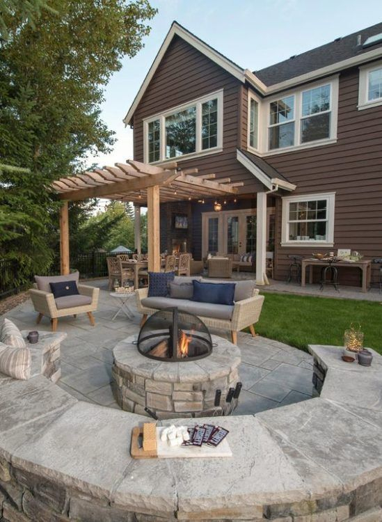 Inspiring Home Patio Ideas For Relaxing Places That Will Amaze You21