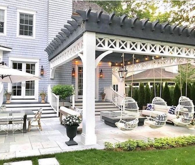 Inspiring Home Patio Ideas For Relaxing Places That Will Amaze You30