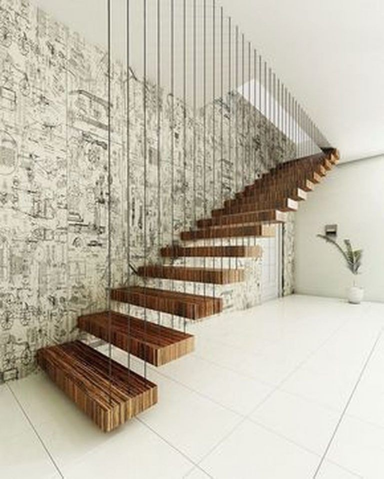 Stunning Staircase Design Ideas To Try This Month30