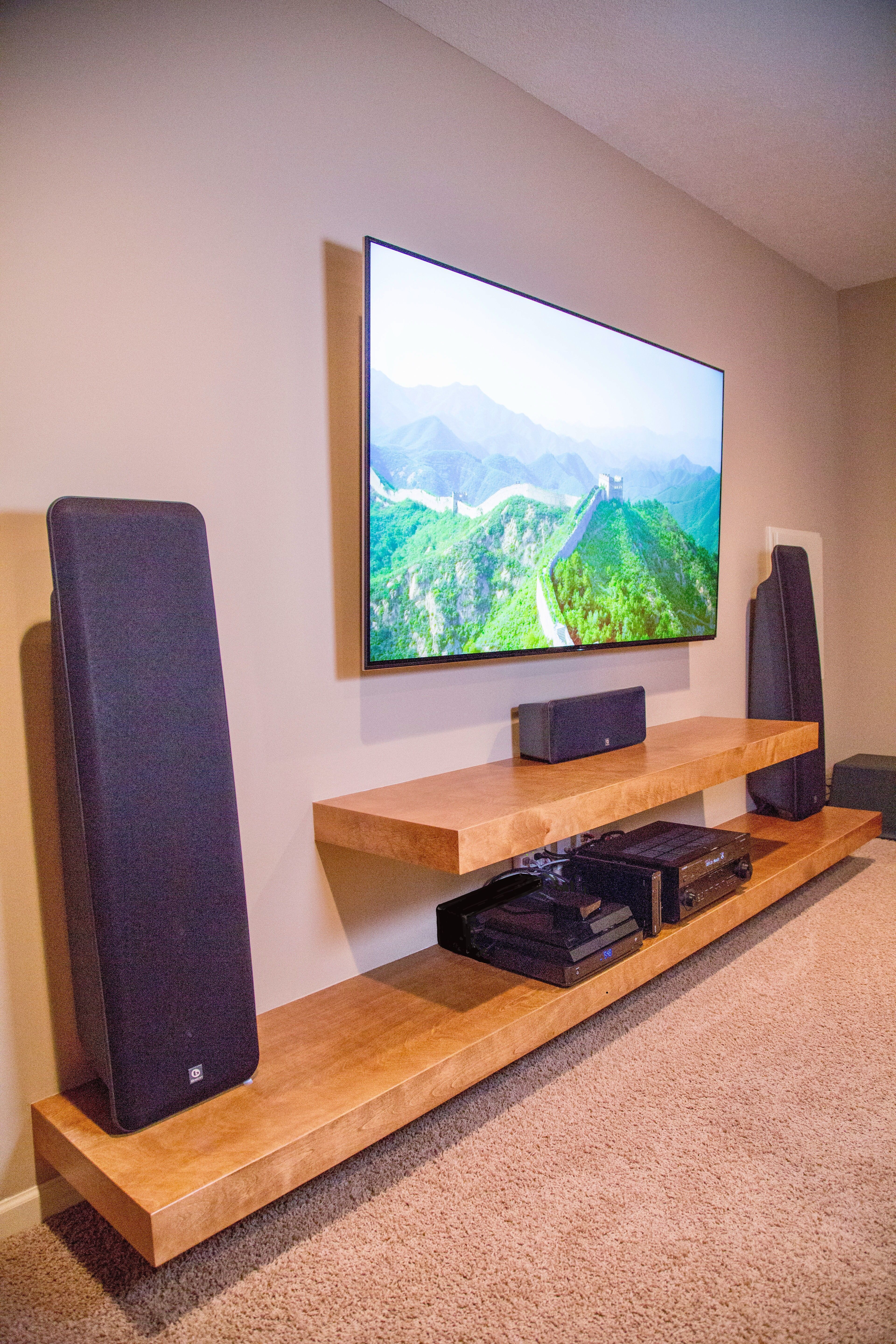 Unordinary Entertainment Centers Design Ideas You Must Try In Your Home31
