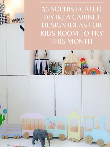 36 Sophisticated Diy Ikea Cabinet Design Ideas For Kids Room To Try This Month