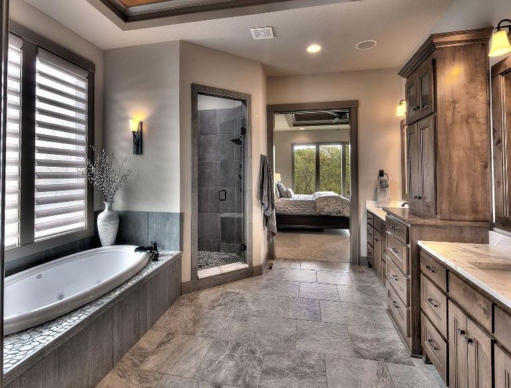 Casual Master Bathrooms Design Ideas That Connected To Nature03