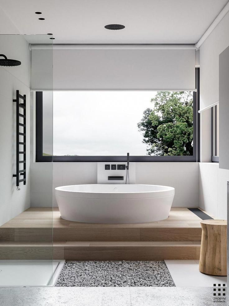 Casual Master Bathrooms Design Ideas That Connected To Nature30