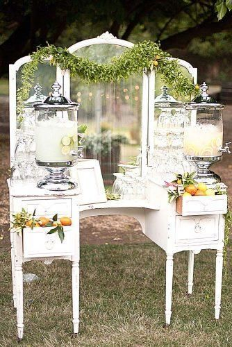 Chic Outdoor Wedding Drink Station And Bar Ideas For Winter To Try Asap30