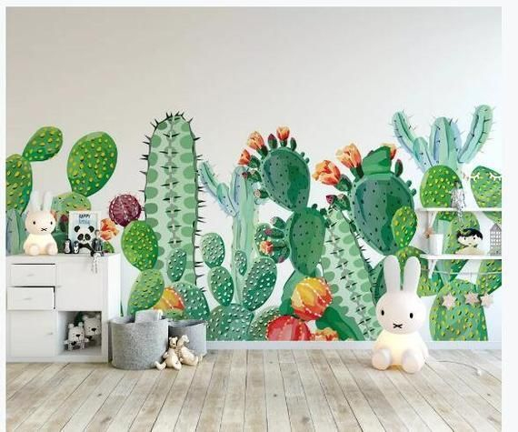 Perfect Cactus Trends Design Ideas For Kids Room To Have22