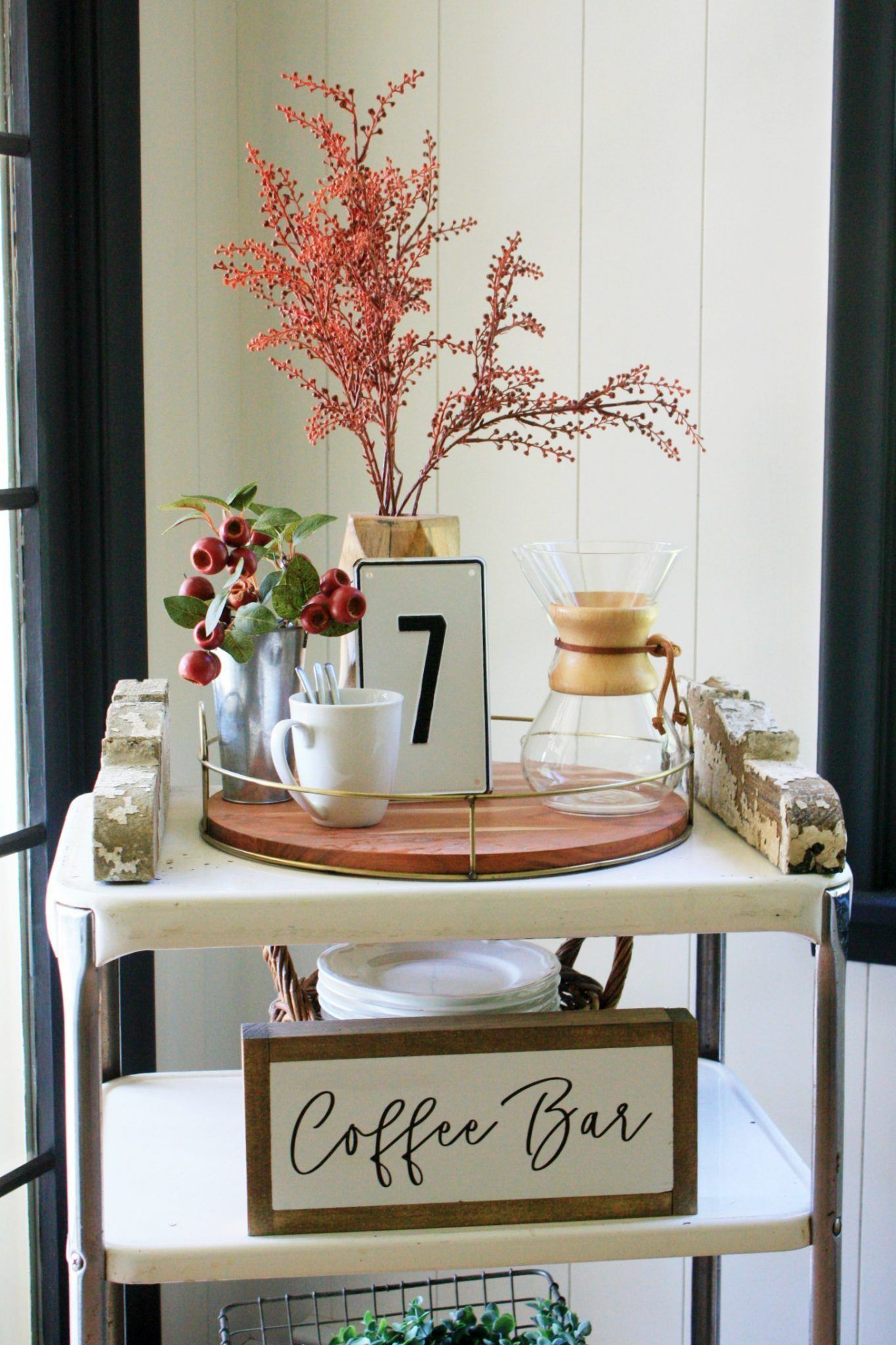 Sophisticated Bar Carts Ideas For Valentine Décor To Try Asap18
