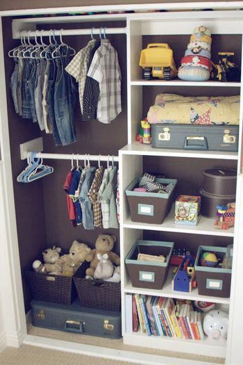 Splendid Baby Closet Organizer Design Ideas That Without Closet To Try16