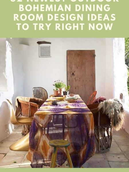 32 Newest Outdoor Bohemian Dining Room Design Ideas To Try Right Now