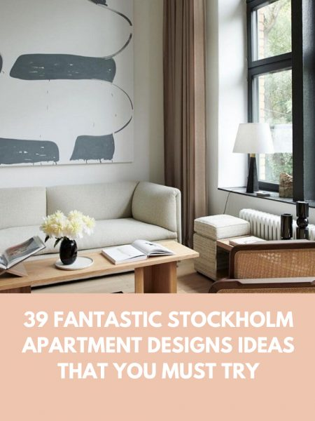39 Fantastic Stockholm Apartment Designs Ideas That You Must Try