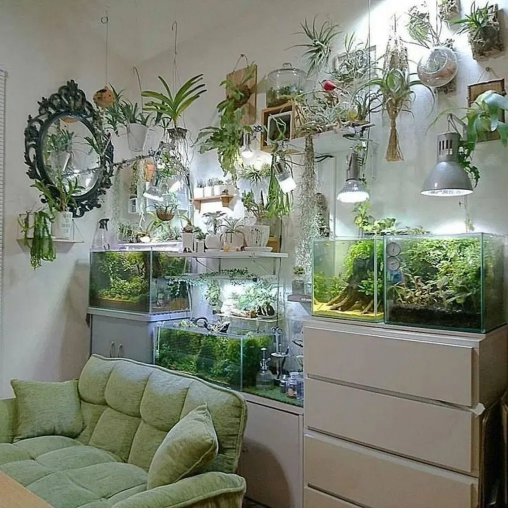 Glamorous Aquariums Design Ideas For Cool Interior Styles To Have02